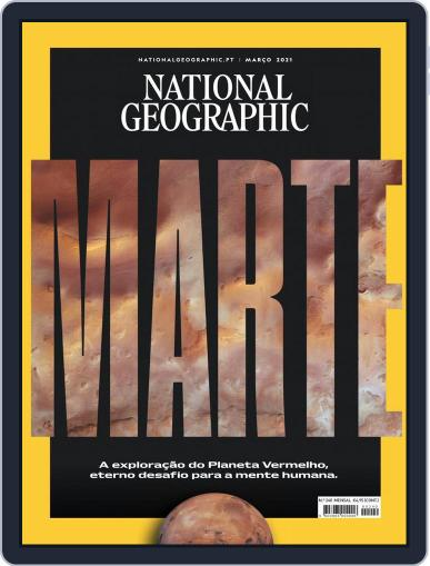 National Geographic Magazine  Portugal Magazine (Digital) March 1st, 2021 Issue Cover