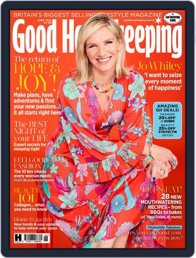 Good Housekeeping UK Magazine (Digital) June 1st, 2021 Issue Cover