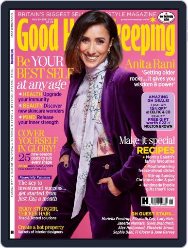 Good Housekeeping UK Magazine (Digital) November 1st, 2021 Issue Cover