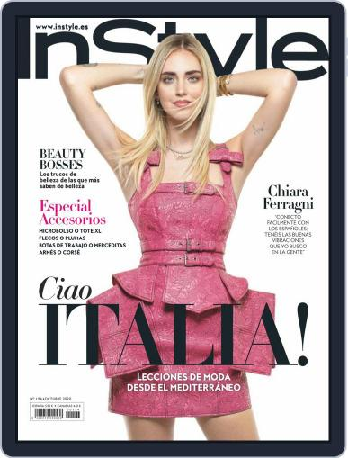 InStyle - España Magazine (Digital) October 1st, 2020 Issue Cover