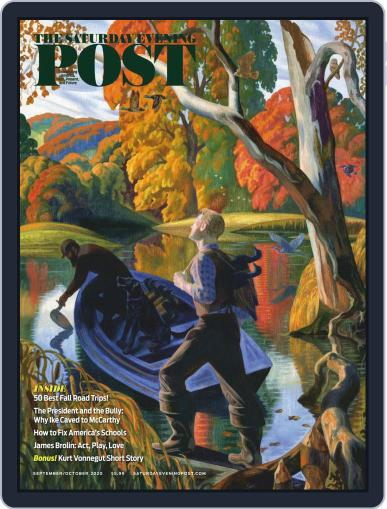 The Saturday Evening Post Magazine (Digital) September 1st, 2020 Issue Cover