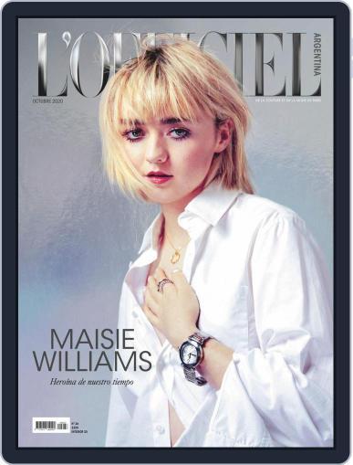 L'Officiel Argentina Magazine (Digital) October 1st, 2020 Issue Cover