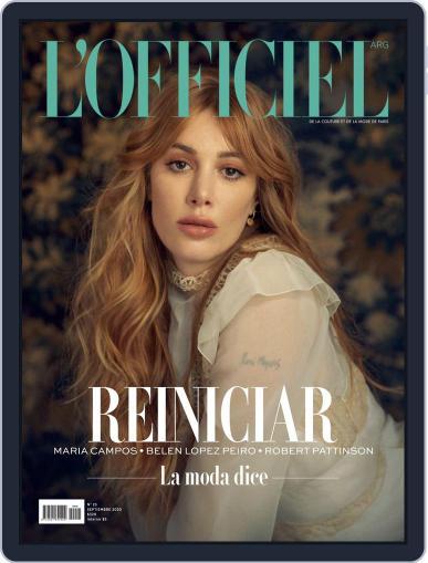 L'Officiel Argentina Magazine (Digital) September 1st, 2020 Issue Cover