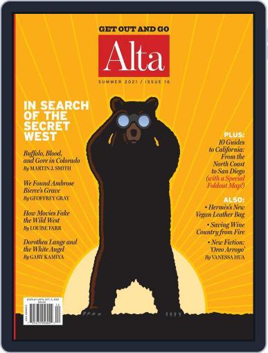 Journal of Alta California Magazine (Digital) June 6th, 2021 Issue Cover