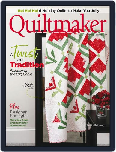 QUILTMAKER Magazine (Digital) November 1st, 2020 Issue Cover
