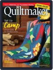 QUILTMAKER Magazine (Digital) Subscription July 1st, 2021 Issue