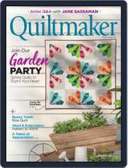 QUILTMAKER Magazine (Digital) Subscription March 1st, 2021 Issue