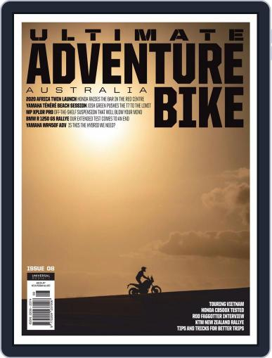 Ultimate Adventure Bike May 1st, 2020 Digital Back Issue Cover