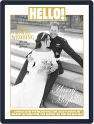 HELLO! The Royal Wedding Special Collectors Edition, Harry and Meghan Magazine (Digital) Subscription June 4th, 2018 Issue