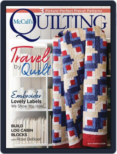 McCall's Quilting Magazine (Digital) July 1st, 2021 Issue Cover