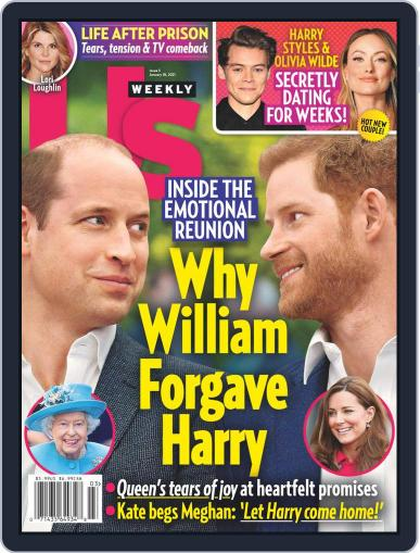 Us Weekly Digital Magazine January 18th, 2021 Issue Cover