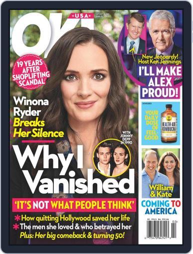 OK! Digital Magazine January 11th, 2021 Issue Cover