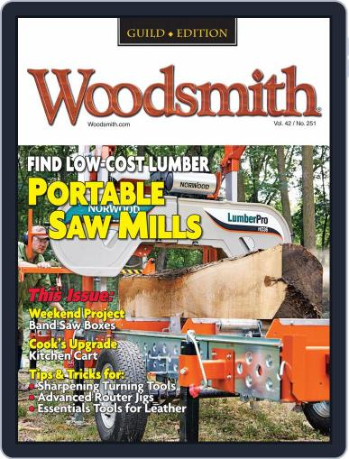 Woodsmith Magazine (Digital) October 1st, 2020 Issue Cover