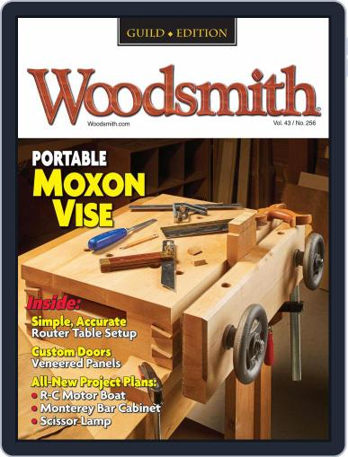 Woodsmith Magazine (Digital) August 1st, 2021 Issue Cover