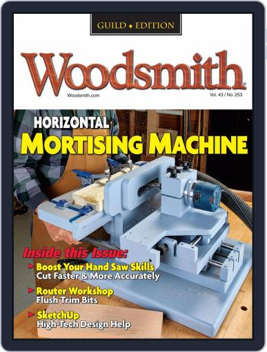 Woodsmith Magazine (Digital) February 1st, 2021 Issue Cover