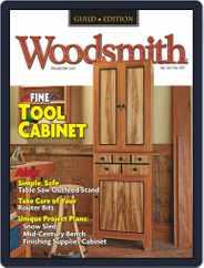 Woodsmith Magazine (Digital) Subscription October 1st, 2021 Issue