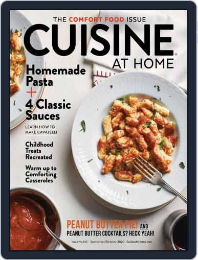 Cuisine at home Magazine (Digital) September 1st, 2020 Issue Cover