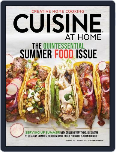 Cuisine at home Magazine (Digital) May 1st, 2021 Issue Cover