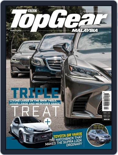 TopGear Malaysia Magazine (Digital) April 1st, 2020 Issue Cover