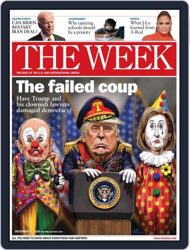 The Week Magazine (Digital) December 4th, 2020 Issue Cover