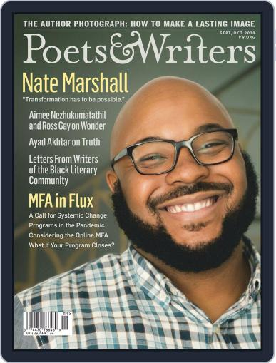 Poets & Writers Digital Magazine September 1st, 2020 Issue Cover