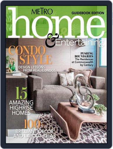 Metro Home And Entertaining Guidebook Edition