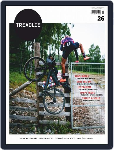 Treadlie Digital Back Issue Cover
