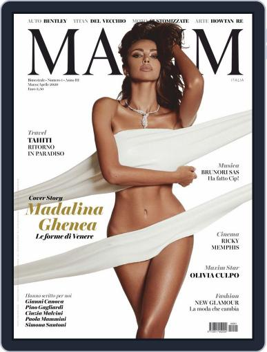 MAXIM ITALIA Magazine (Digital) Cover