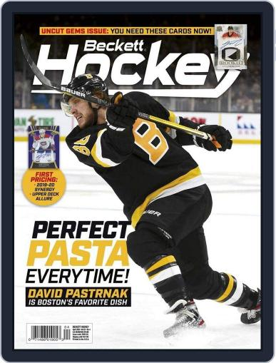 Beckett Hockey Digital Magazine Cover