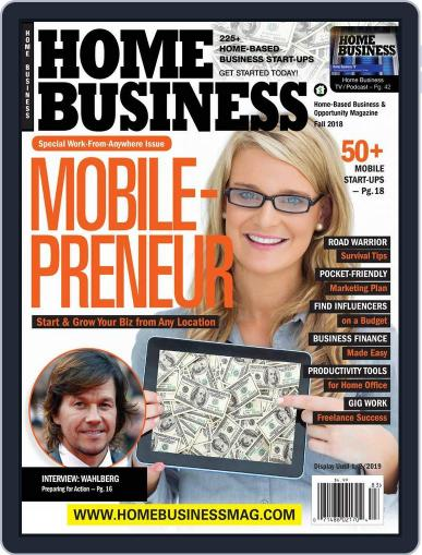 Home Business Magazine Digital Magazine Cover
