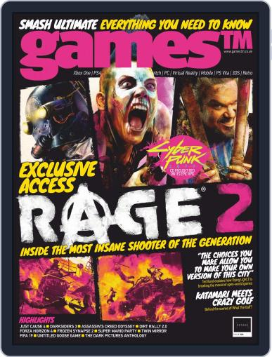 GamesTM Digital Back Issue Cover