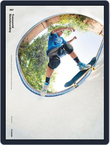Transworld Skateboarding Digital Back Issue Cover