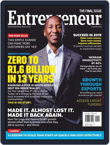 Entrepreneur Magazine South Africa Digital Back Issue Cover