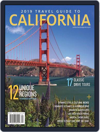 Travel Guide To California Magazine (Digital) Cover