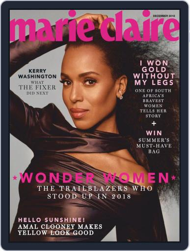 Marie Claire South Africa (Digital) Cover
