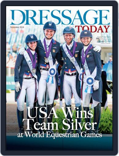 Dressage Today Magazine (Digital) Cover