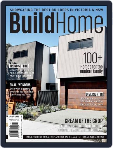 BuildHome Victoria (Digital) Cover