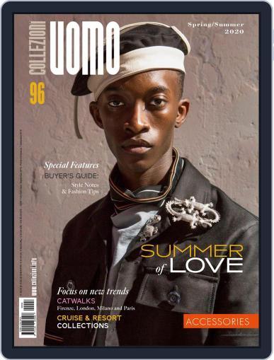Collezioni Uomo Digital Back Issue Cover