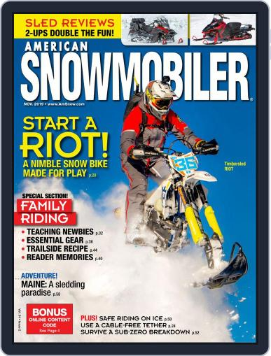 American Snowmobiler Digital Back Issue Cover