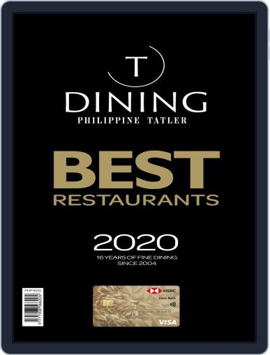 Tatler Dining Philippines Digital Back Issue Cover
