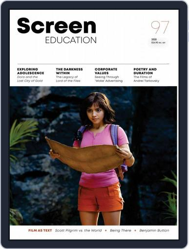 Screen Education (Digital) Cover