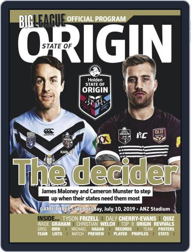 Big League: NRL State of Origin (Digital) Cover