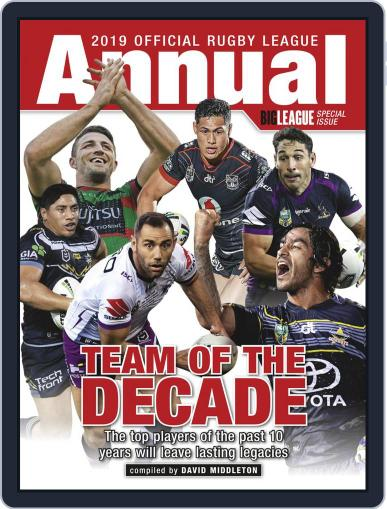 Official Rugby League Annual Digital Back Issue Cover