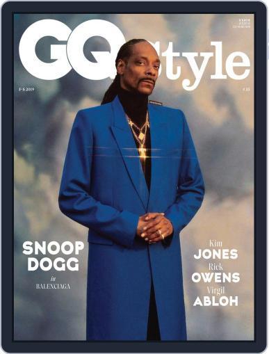 GQ Style Deutschland Digital Back Issue Cover