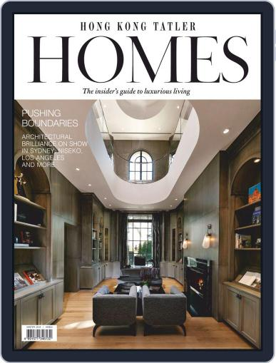 Hong Kong Tatler Homes Digital Back Issue Cover