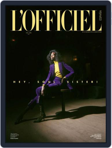 L'Officiel España Digital Back Issue Cover