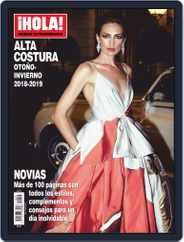 ¡Hola! Fashion: Especial Alta Costura (Digital) Subscription