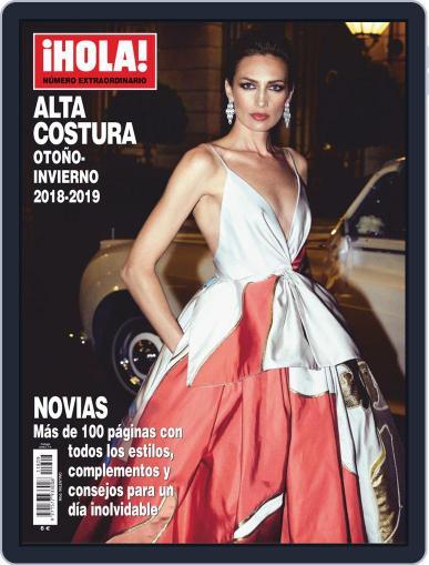 ¡Hola! Fashion: Especial Alta Costura Digital Back Issue Cover