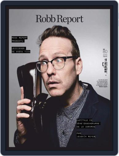 ROBB REPORT España Digital Back Issue Cover