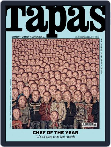 TAPAS - English Version (Digital) Cover